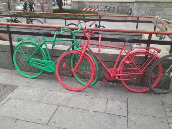 Marketing non convenzionale - Biciclette