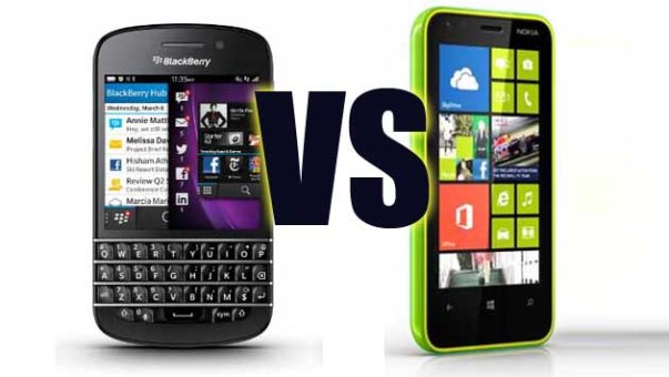microsoft vs blackberry